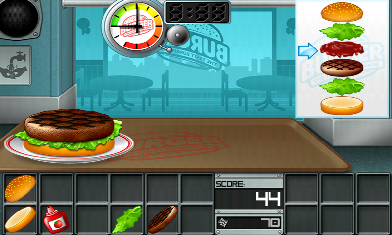 game burger online